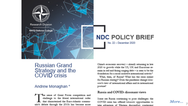 NDC Policy Brief 22-20