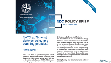 NDC Policy Brief 23-19