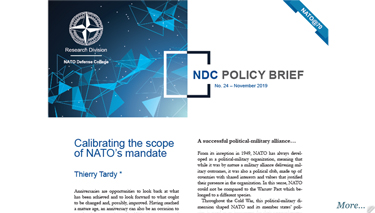 NDC Policy Brief 24-19