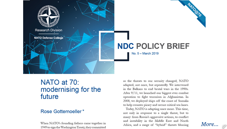 NDC Policy Brief 5-19