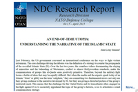 Research Report; An End-of-Time Utopia: Understanding the Narrative of the Islamic State