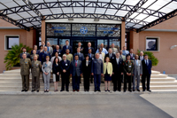Participants to the fourth Senior Executive Regional Course