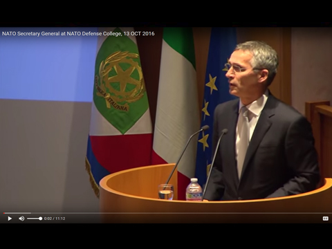 NATO Secretary General at NATO Defense College