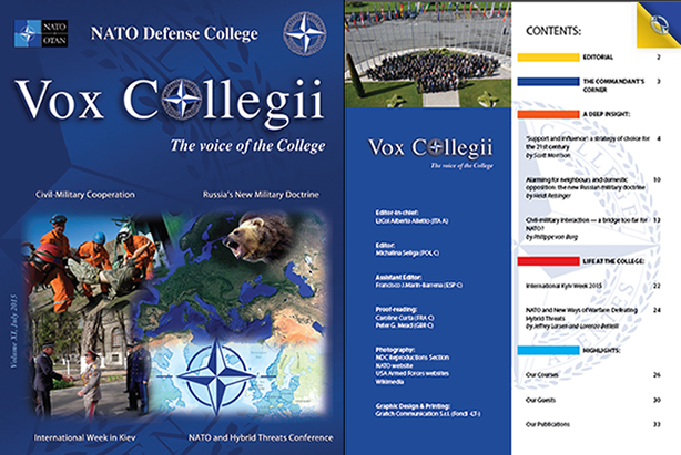 Vox Collegii Magazine Volume XI