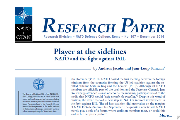 Research paper on isil