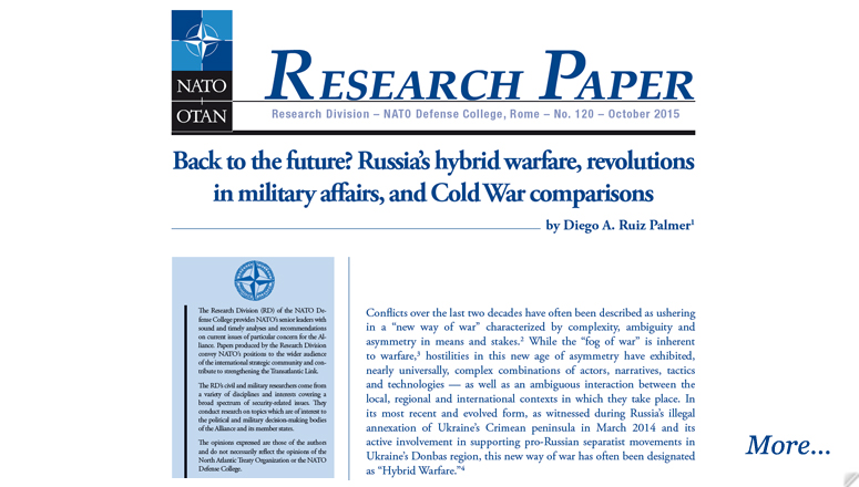 research papers on the cold war
