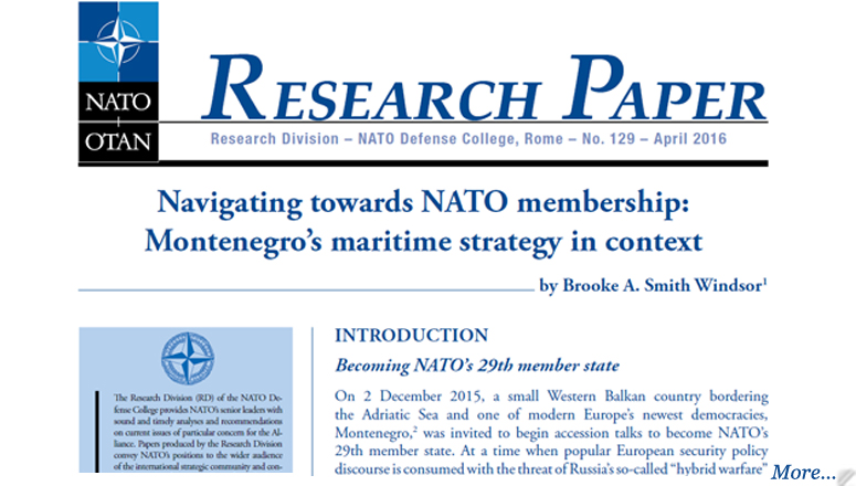 nato defense college research papers
