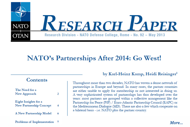Partnership research paper