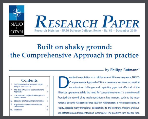 Comprehensive research paper