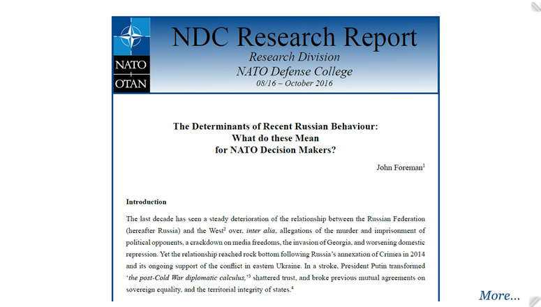 Research Report 08/2016